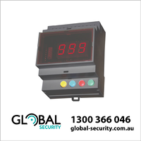 Control Unit 433MHz with 4 Button Keypad and Digital Display
