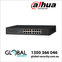 Dahua DH-PFS3016-16GT All-Giga Desktop Switch, 16